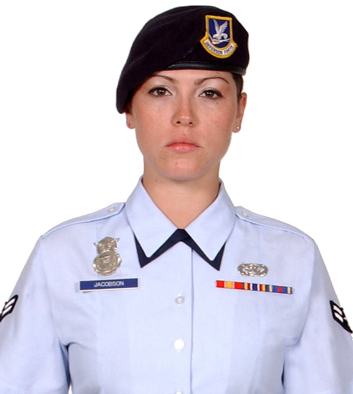 air force police officer