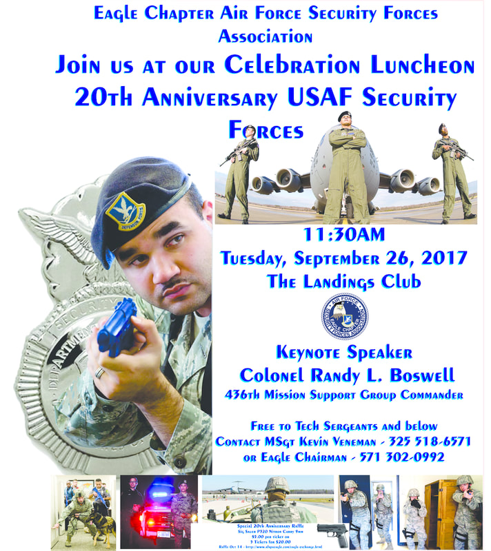 Events - Eagle Chapter Air Force Security Forces Association